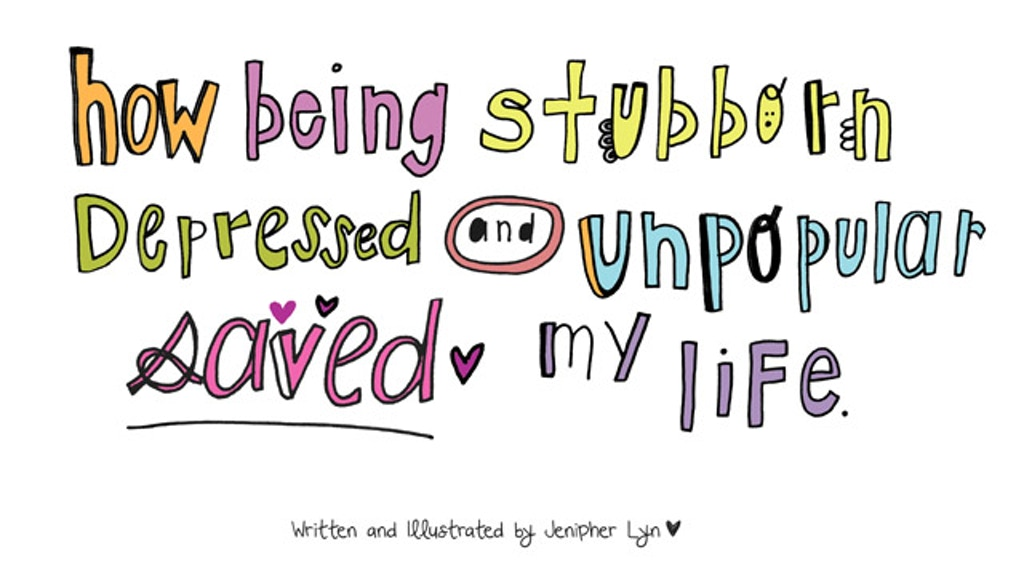 Being Stubborn, Depressed & Unpopular SAVED My Life! - BOOK! project video thumbnail