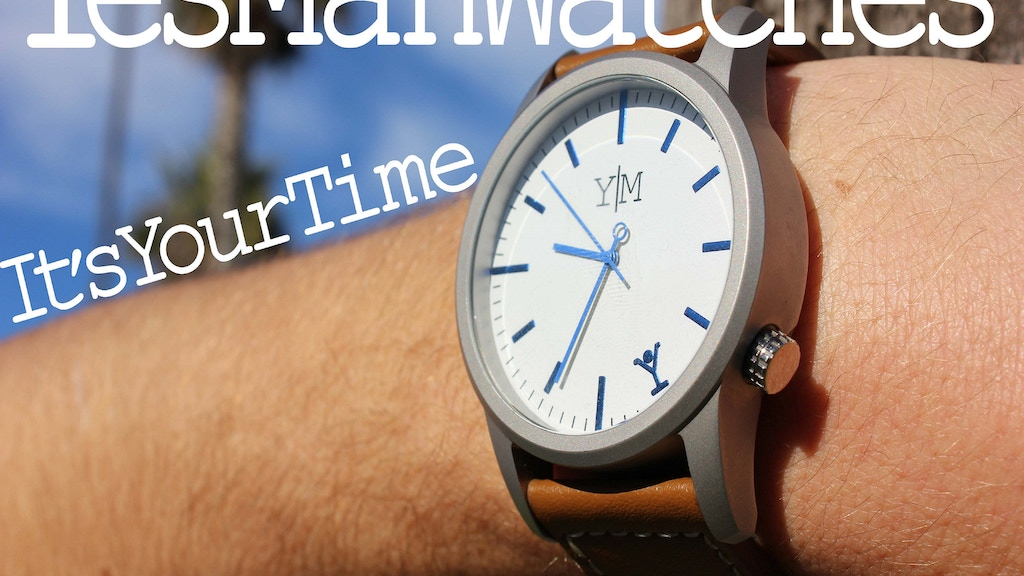 Yes Man Watches: for your time, with a new kind of buckle project video thumbnail