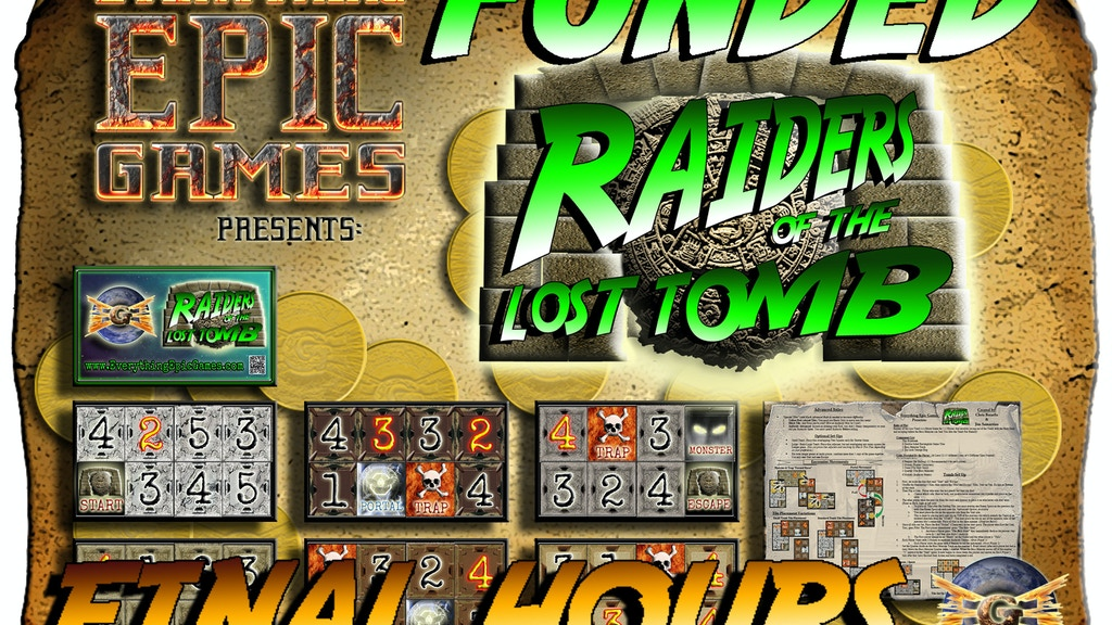 "Raiders of the Lost Tomb ""The Pay What You Want"" Micro Game project video thumbnail"