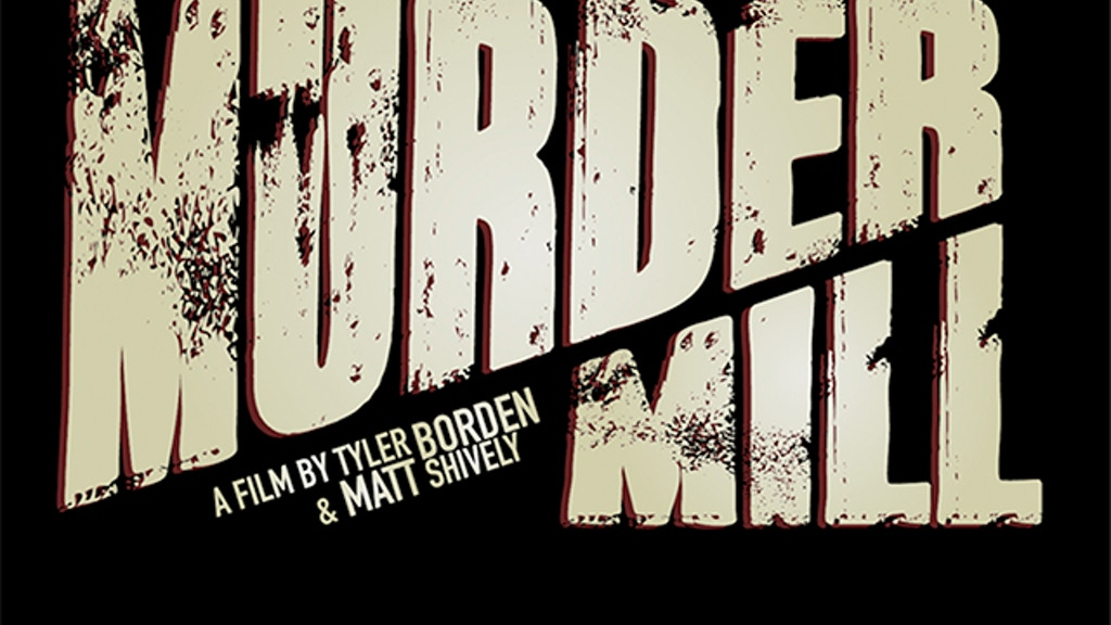 MURDER MILL project video thumbnail