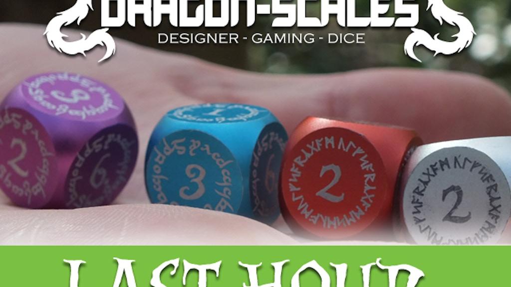 Dragon Scales Metal Designer Gaming Dice project video thumbnail
