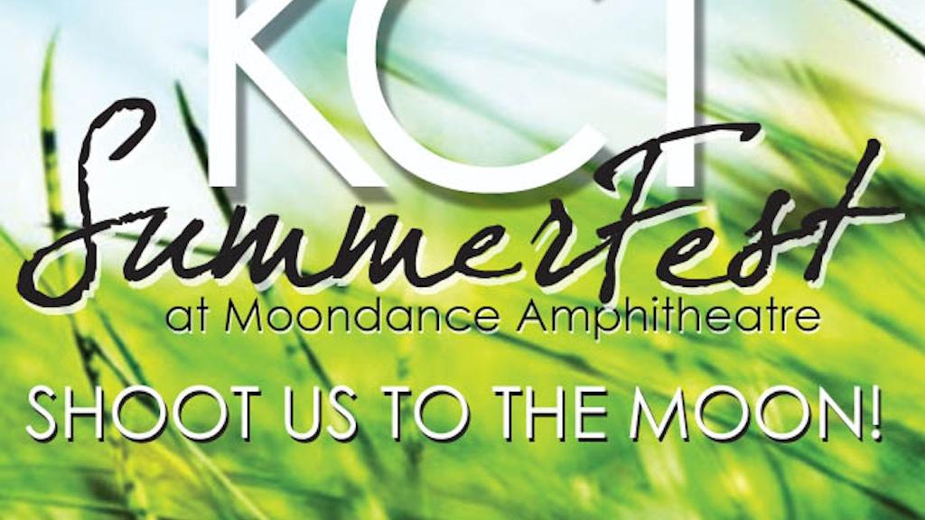 SHOOT US TO THE MOON!!   Lexington SummerFest 2014. project video thumbnail