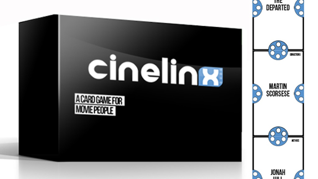 Cinelinx - A Card Game For People Who Love Movies. project video thumbnail