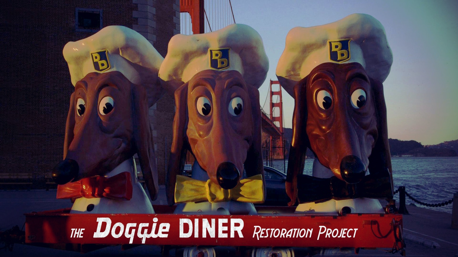 Help us restore some of the last Doggie Diner heads—a symbol of SF's scrappy, can-do spirit during the post WWII era & beyond