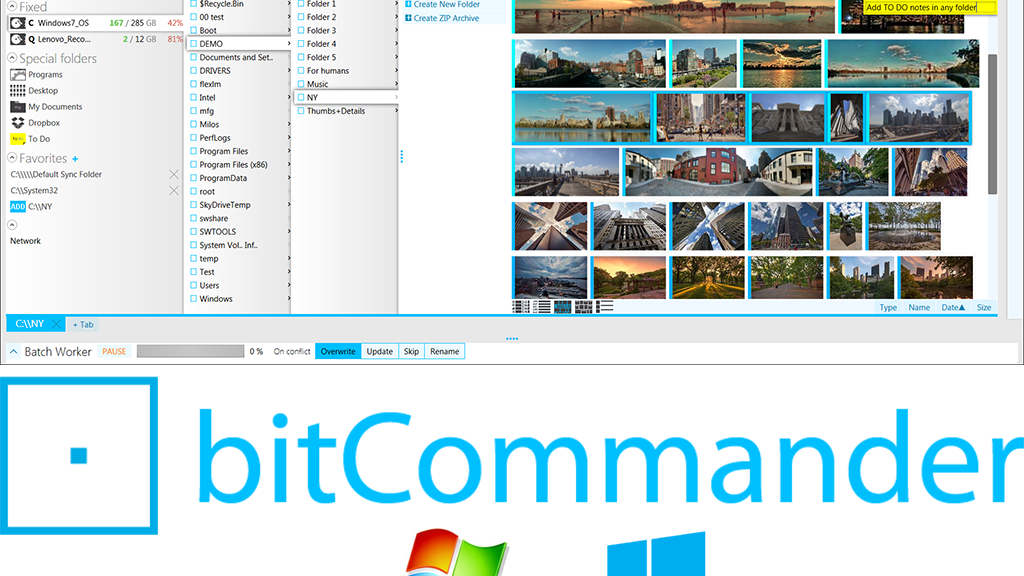 bitCommander File Manager project video thumbnail