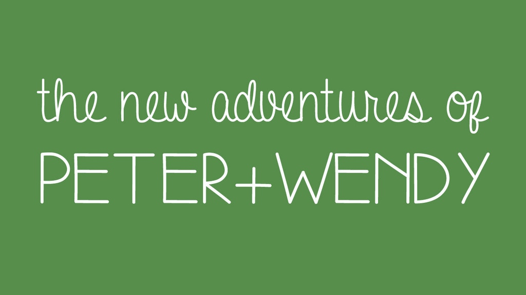 The New Adventures of Peter and Wendy project video thumbnail