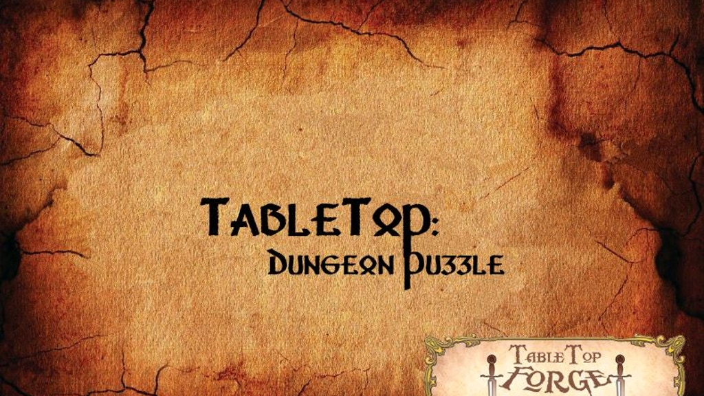 Project image for TableTop: Dungeon Puzzle (Canceled)