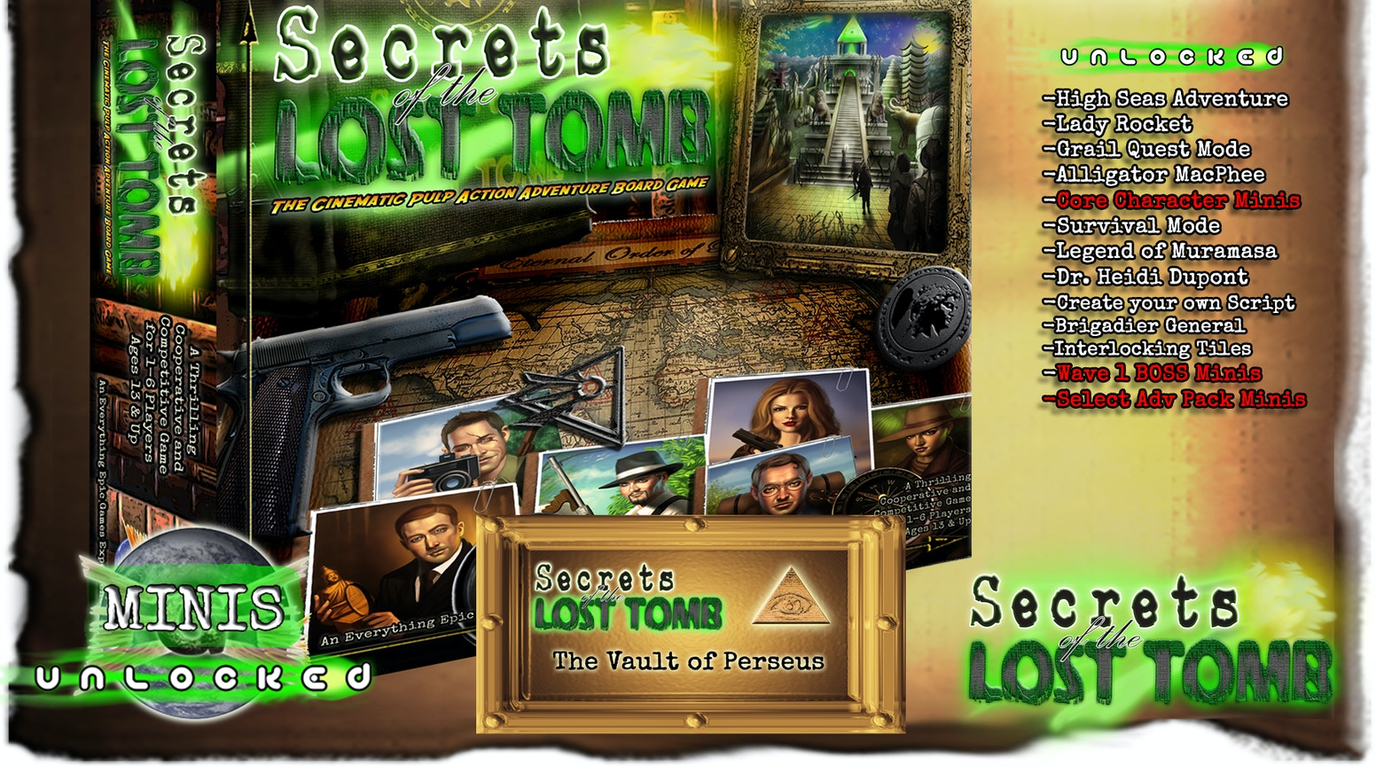 Secrets of the lost tomb by everything epic kickstarter check out our new campaign secrets of the lost station on kickstarter now biocorpaavc Images