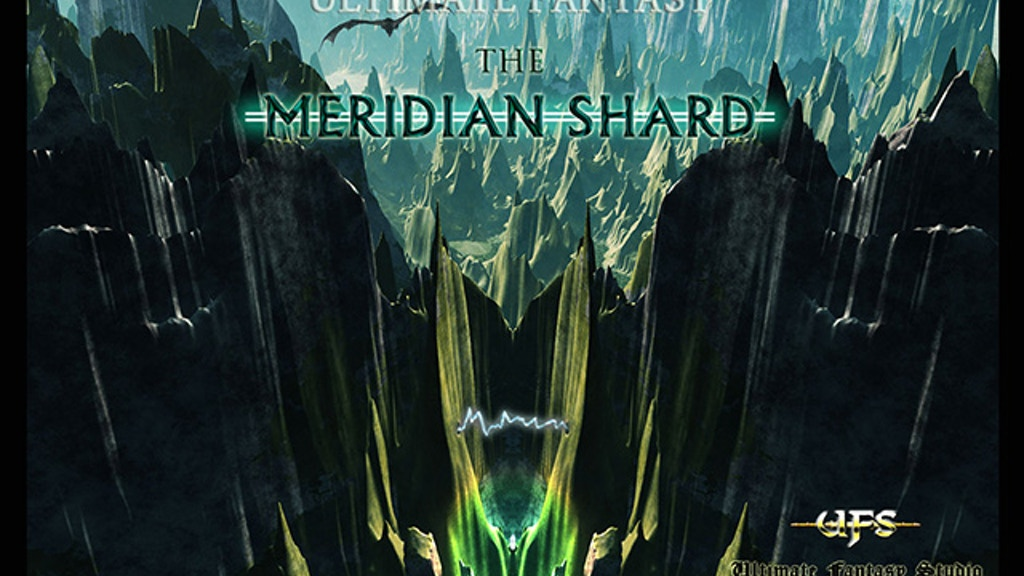 The Meridian Shard RPG - An indie game. project video thumbnail