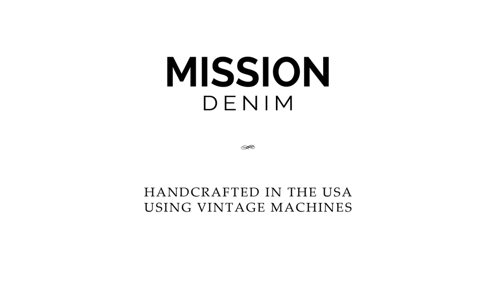 Project image for MISSION DENIM: Raw Selvedge Denim Jeans (Canceled)