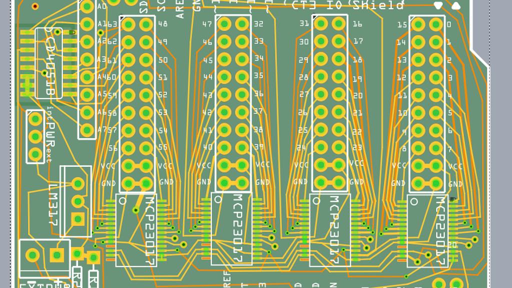 64 I/O Arduino Shield project video thumbnail