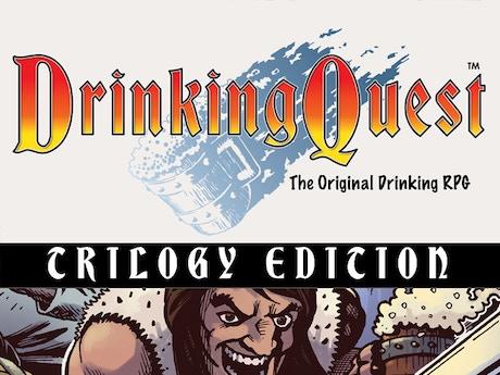 Drinking Quest: Trilogy Edition by Jason Anarchy —Kickstarter