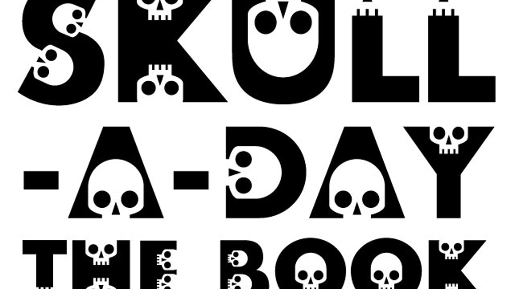 Skull-A-Day:  365 Days/365 Skulls -The Ultimate Book project video thumbnail
