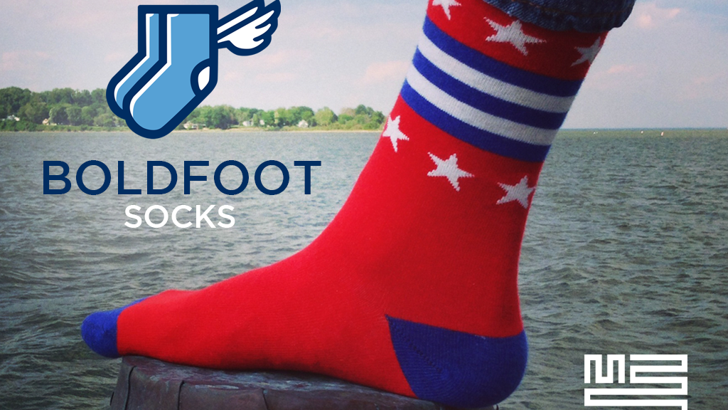 Boldfoot: Awesome socks re-igniting the USA-made movement project video thumbnail
