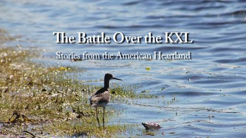 The Battle Over the KXL: Stories from the American Heartland project video thumbnail