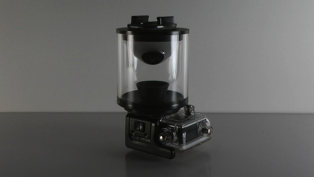 Eye Mirror 360º lens for any camera. GoPro and Oculus ready. project video thumbnail
