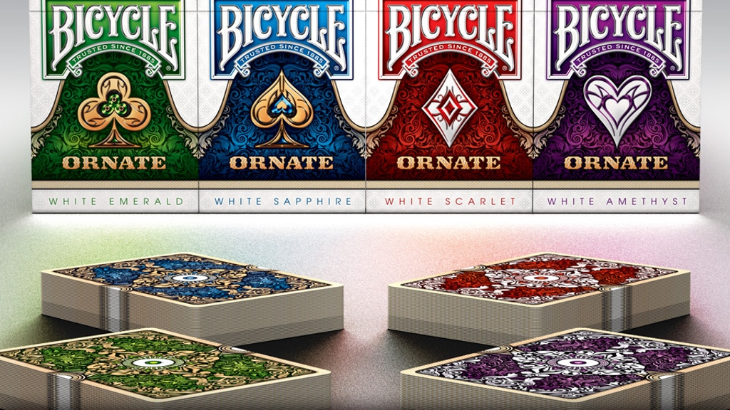 ORNATE Playing Cards: White Edition project video thumbnail