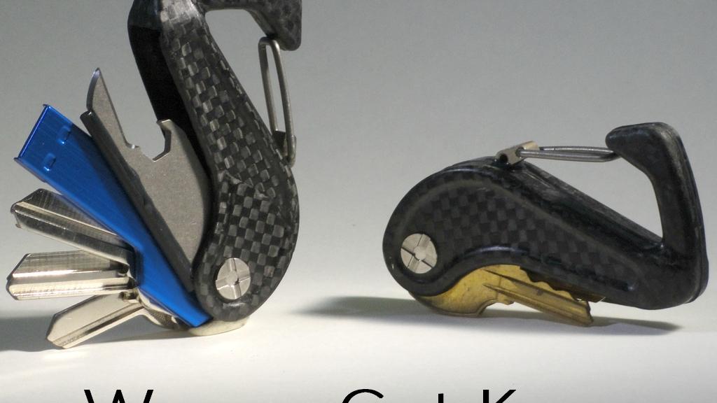 Weave Got Keys - Elegant Carbon Fiber Key Holder project video thumbnail