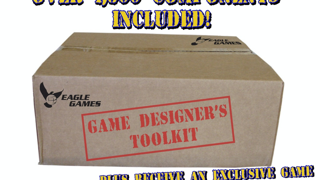 The Game Designer's Toolkit:  Meet Your New Project! project video thumbnail