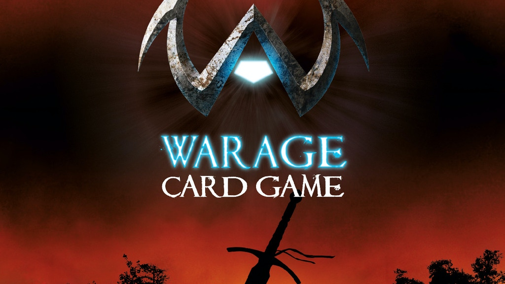 Warage: An exciting Roleplaying Card Game with Deck Building project video thumbnail