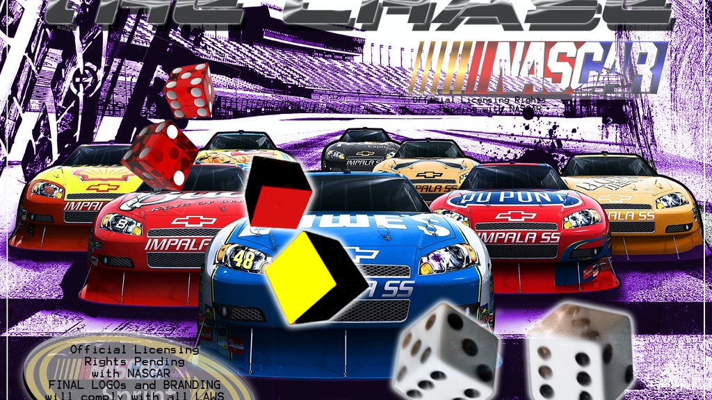 """Project image for """"Get in The Chase"""" The Fun Spring Car board Game"""