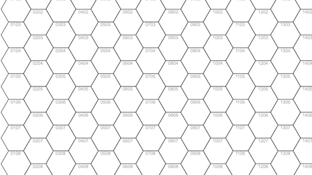A4 Numbered Hex Pad by Peter Regan —Kickstarter
