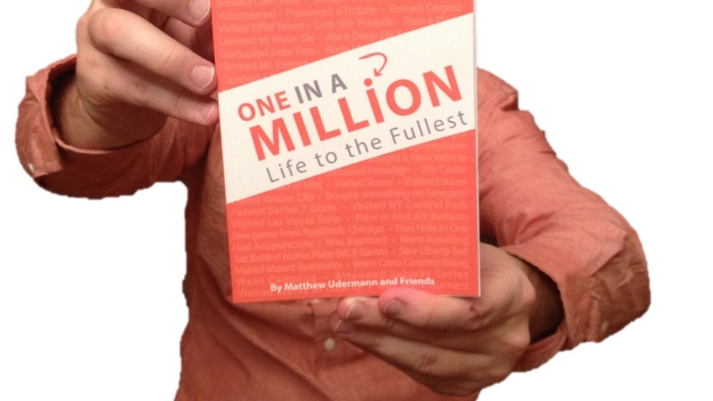 This Year, Americans Did This - Did You? Be One in a Million project video thumbnail