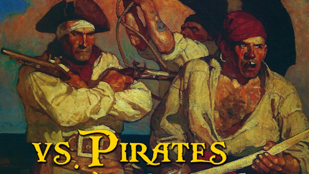 Project image for vs. Pirates Tabletop Micro Roleplaying Game