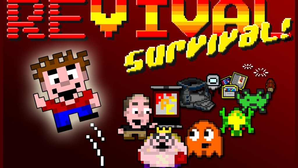 Revival Survival! - Official RRE arcade game; starring YOU! project video thumbnail