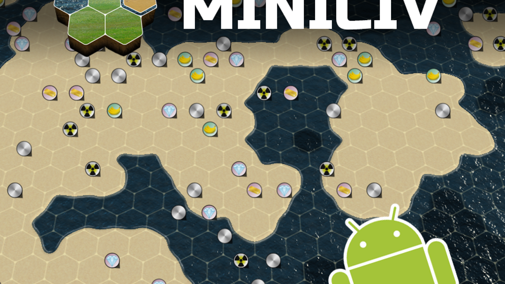 MiniCiv, 4X game for Android project video thumbnail