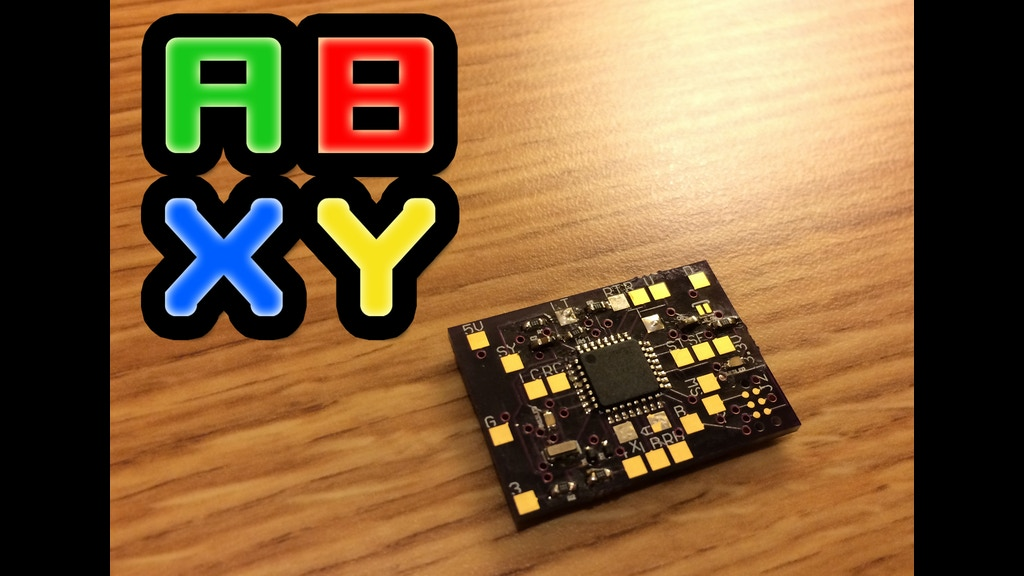 Abxy an arduino platform for the xbox controller by