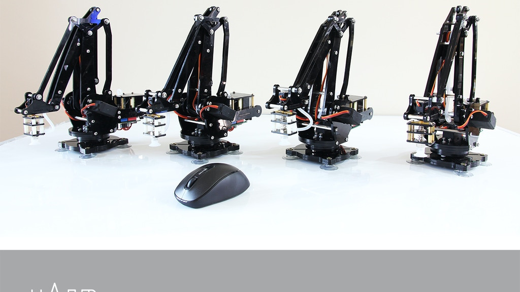 uArm: Put a Miniature Industrial Robot Arm on Your Desk project video thumbnail