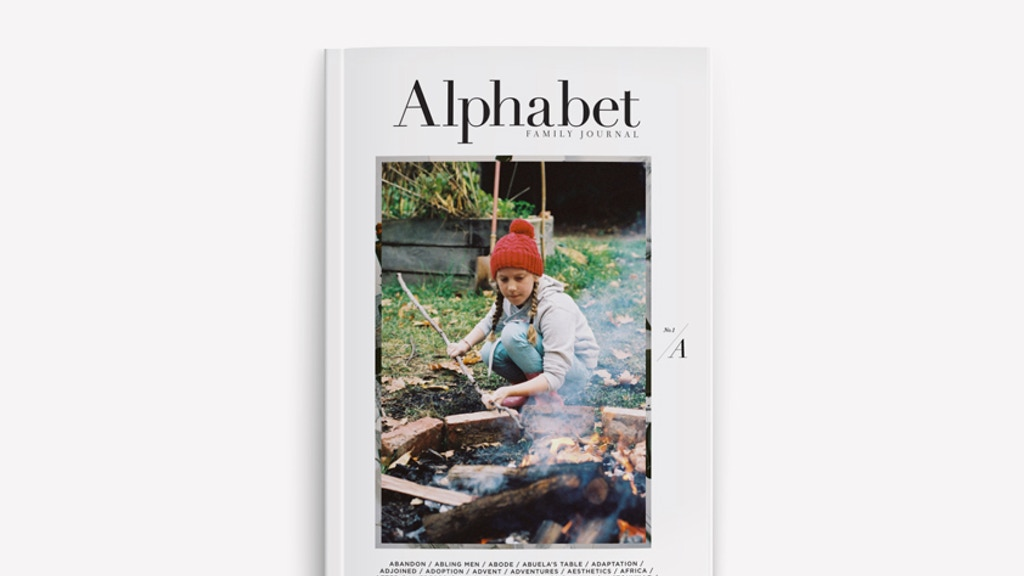 Alphabet Family Journal - Print Edition project video thumbnail