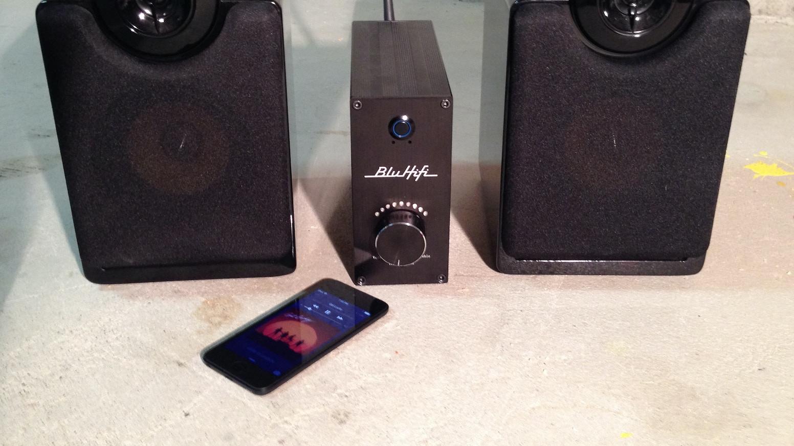 BluAmp Bluetooth Amplifier
