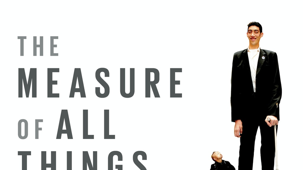 The Measure of All Things: a new live documentary project video thumbnail