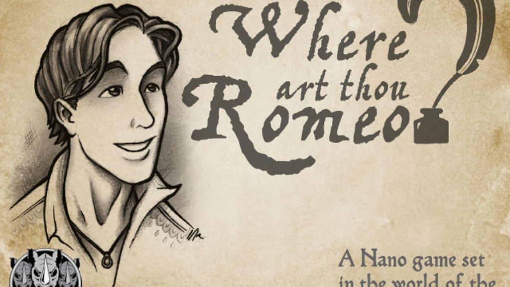Where Art Thou, Romeo? project video thumbnail