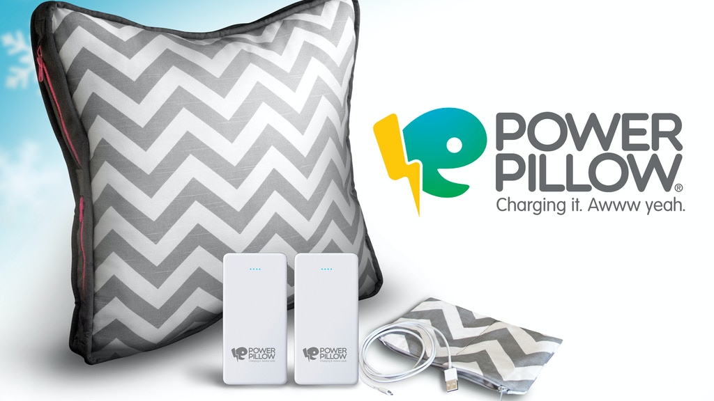 Power Pillow: The phone and tablet charging system for all. project video thumbnail