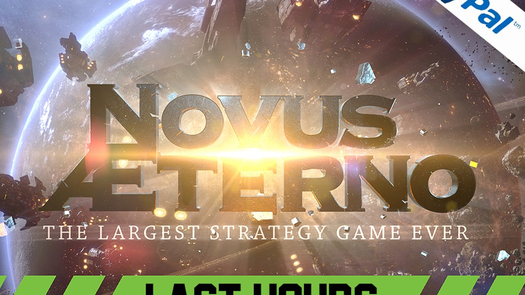 Novus AEterno: MMO 4X RTS The Largest Strategy Game Ever. project video thumbnail