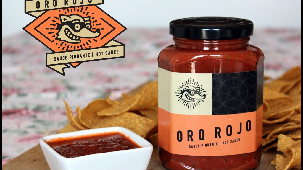 Oro Rojo: The best sauce you'll ever taste. project video thumbnail