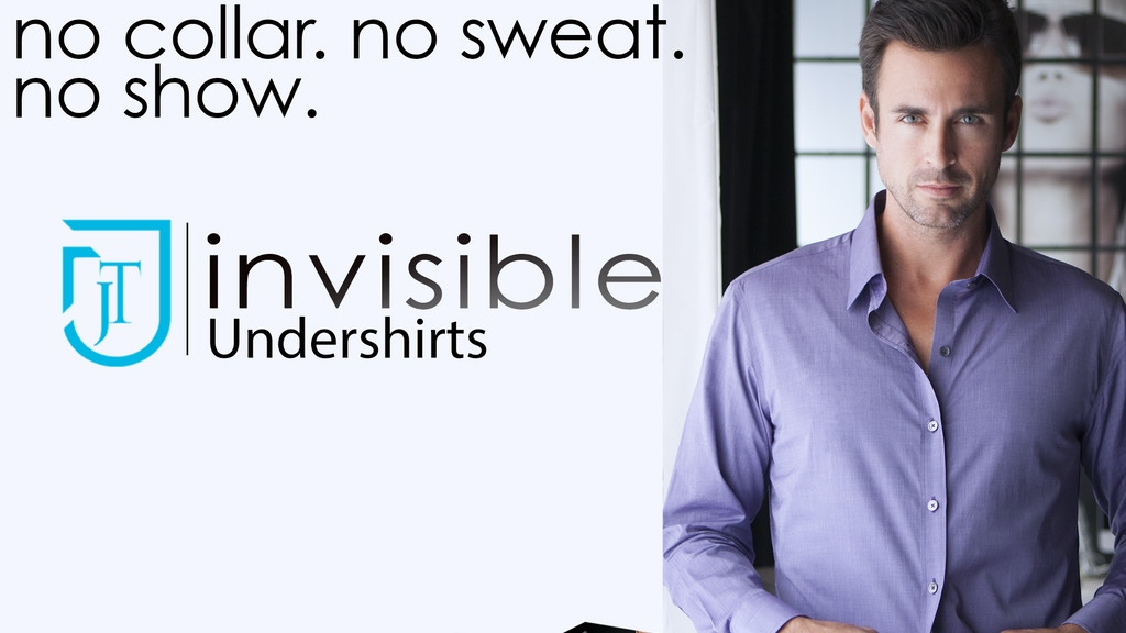 Hidden Undershirts.  6 Styles.  Enable your higher fashion. project video thumbnail