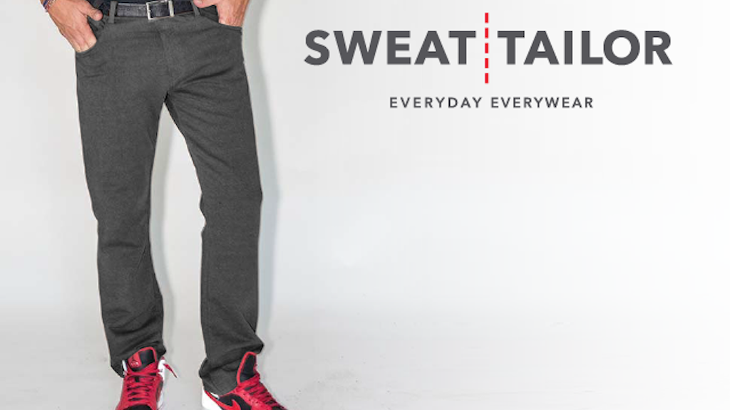 Sweat Tailor - The Ultimate Alternative to Denim Jeans project video thumbnail