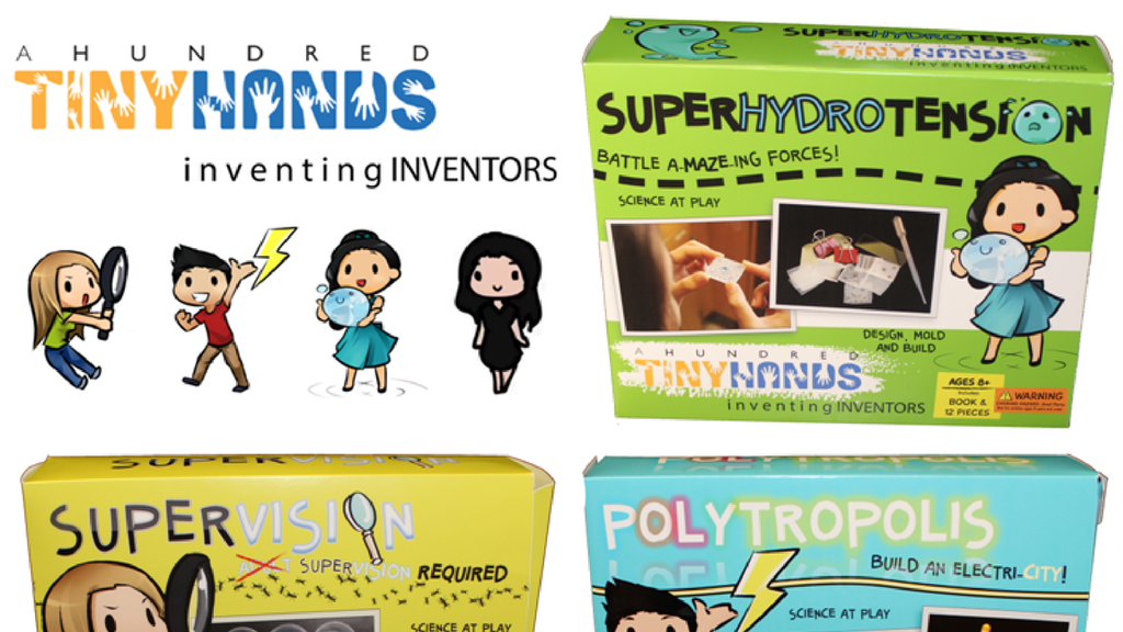 A Hundred Tiny Hands:  Toys for Your Brilliant Lil' Inventor project video thumbnail