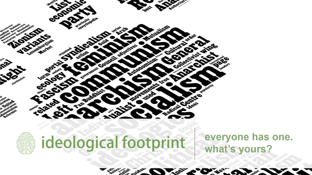 What's Your Ideological Footprint? by James Addoms