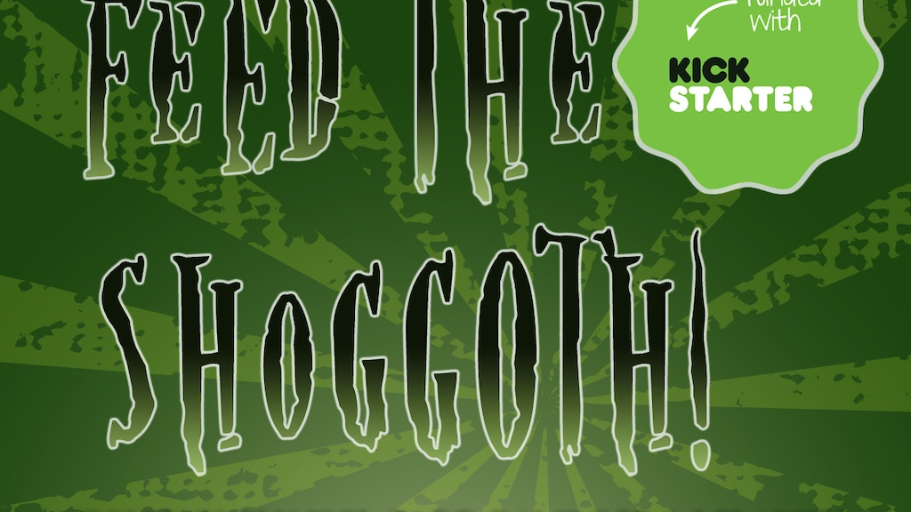 Feed the Shoggoth! Card Game project video thumbnail