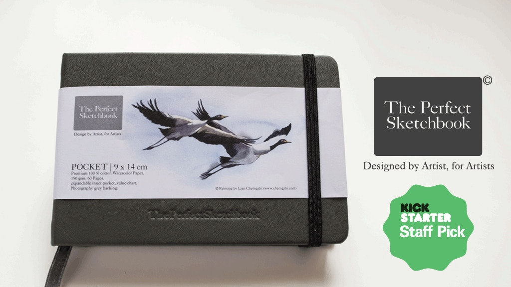 The Perfect Sketchbook for Travel Artists & Art Enthusiasts project video thumbnail