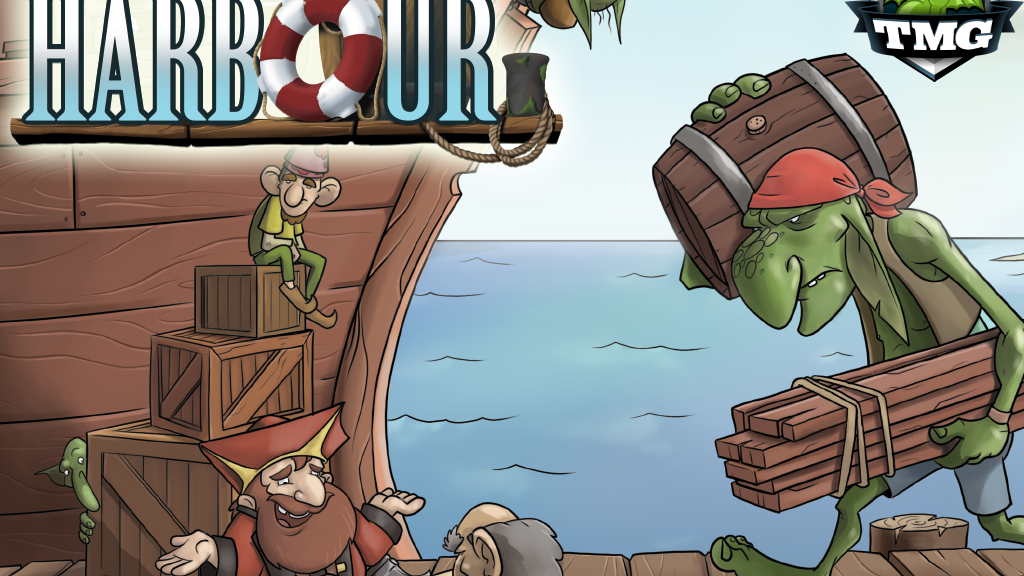 HARBOUR - Master markets in a fantasy port project video thumbnail
