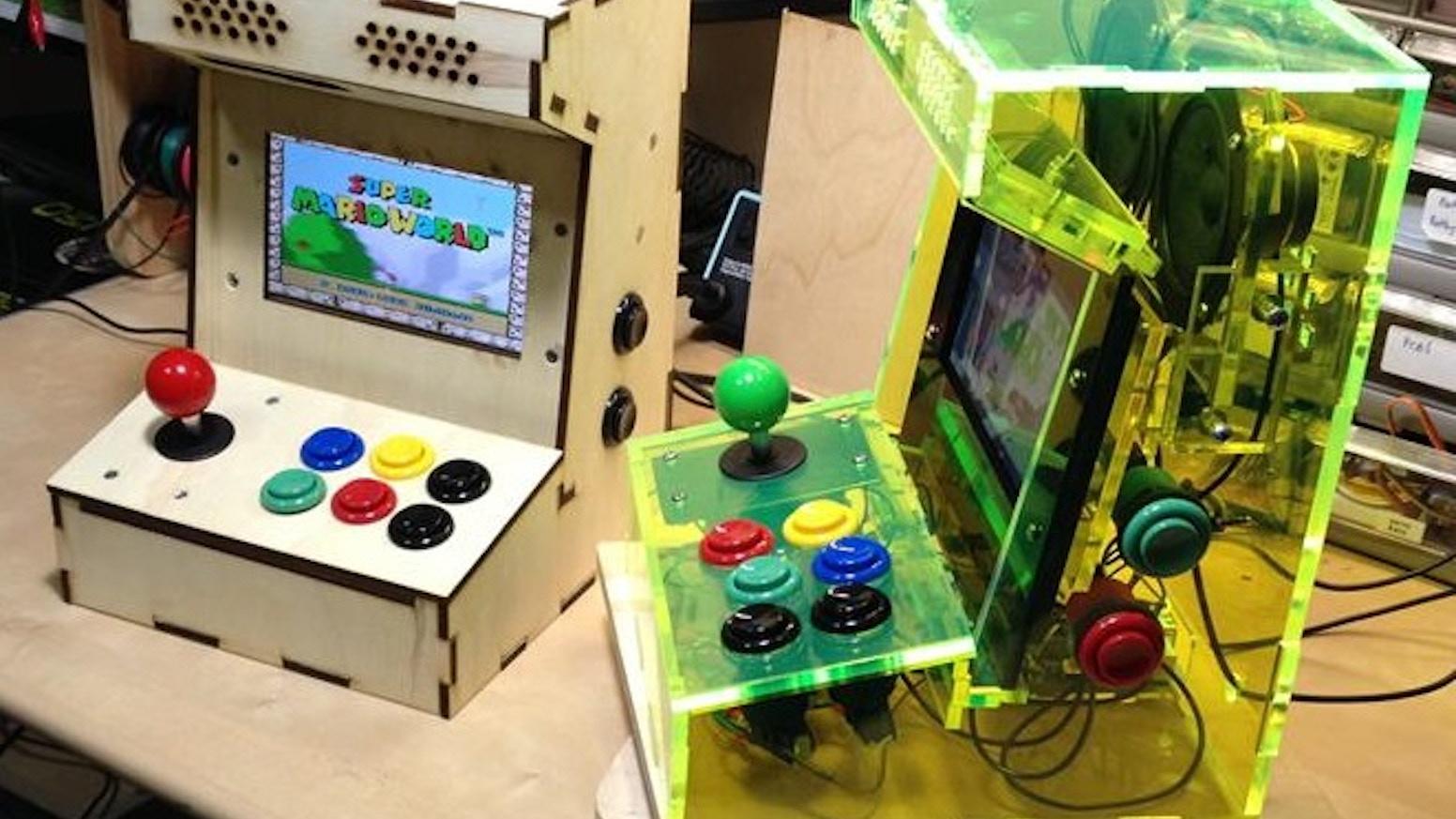 Porta Pi Arcade A Diy Mini Arcade Cabinet For Raspberry Pi