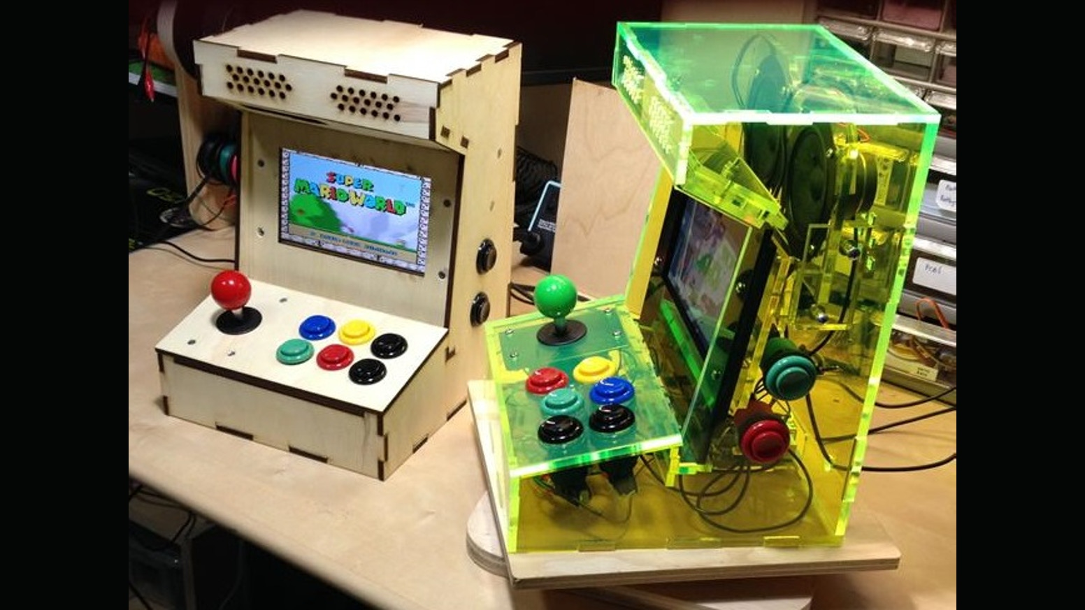 Raspberry Pi Game Cabinet Porta Pi Arcade A Diy Mini Arcade Cabinet For Raspberry Pi By