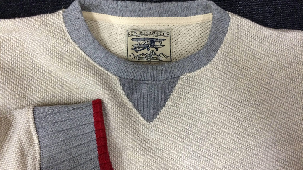 "Ace Rivington: Homespun Sweatshirt or ""Jumper"" project video thumbnail"