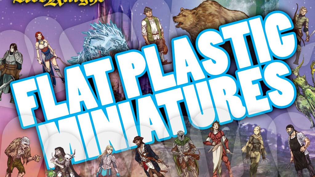 Flat Plastic Miniatures project video thumbnail